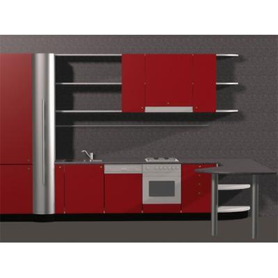 3D MODELS ARCHITECTURE SCENES High Tech Kitchen
